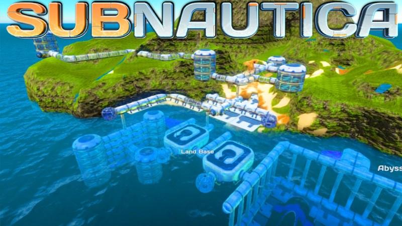 Subnautica Island City base