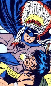 plumas-batman