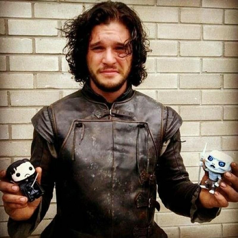 Funko Pop Juego de Tronos Jon Snow Actor Posando