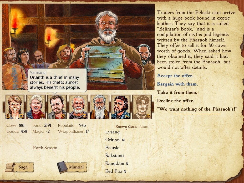 King of Dragon Pass Book