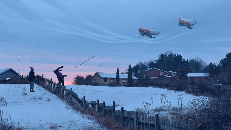 Tales from the Loop Simon Stålenhag 2