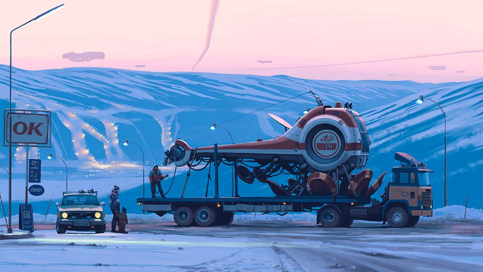 Tales from the Loop Simon Stalenhag 4