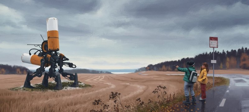 Tales from the Loop Simon Stalenhag 6