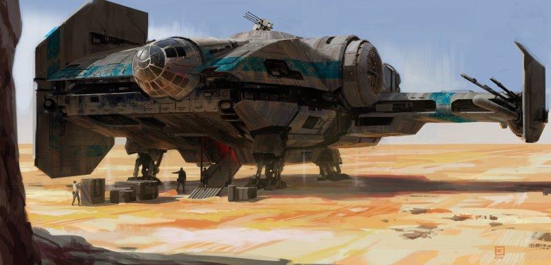 The Smuggler's Ship por Miguel Iglesias