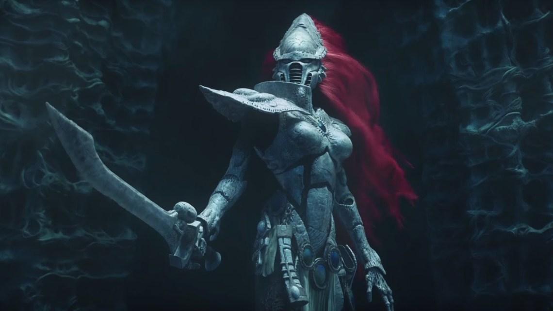 Los eldar en Dawn of War III