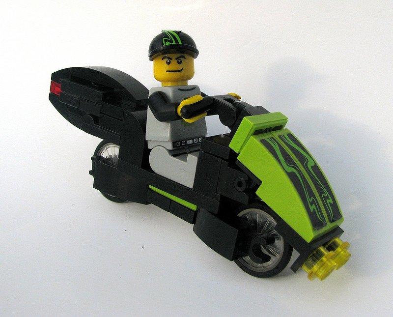 Motocicletas en LEGO