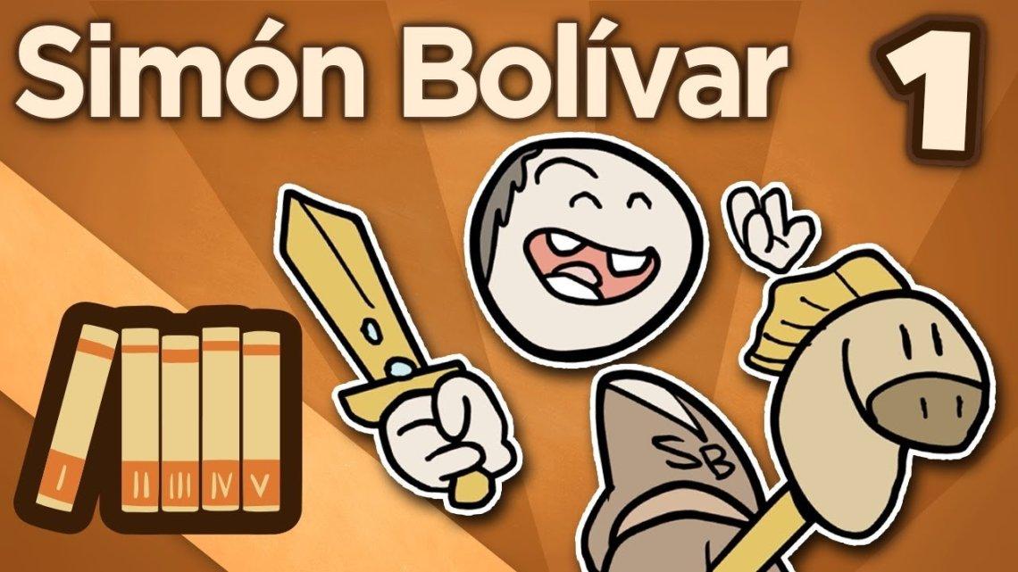 Simon bolivar en Exra History
