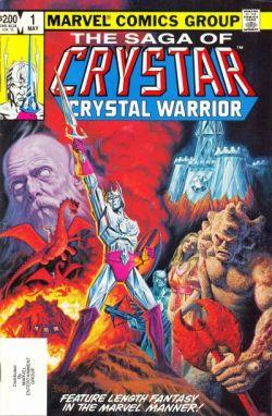 Crystar Otra Portada de Cómic