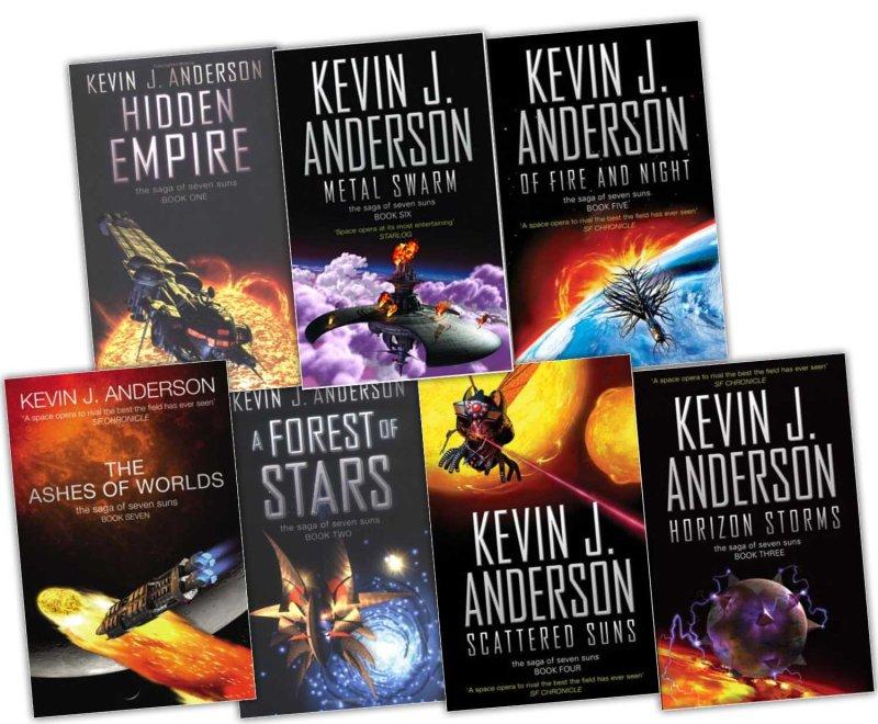 Saga of Seven Suns Kevin J Anderson