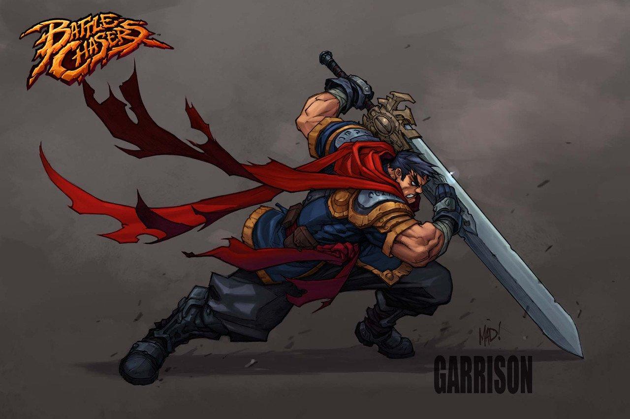 Battle Chasers Nightwar Garrison