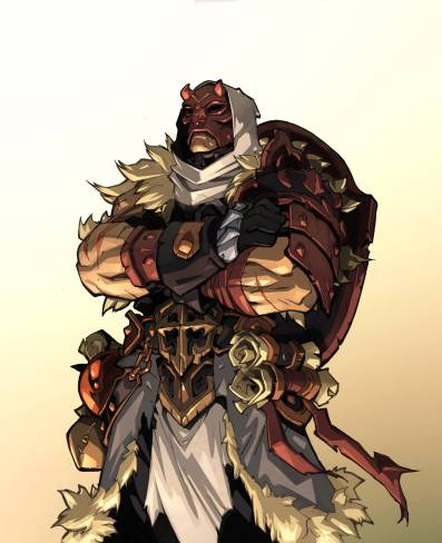 Battle Chasers Personaje