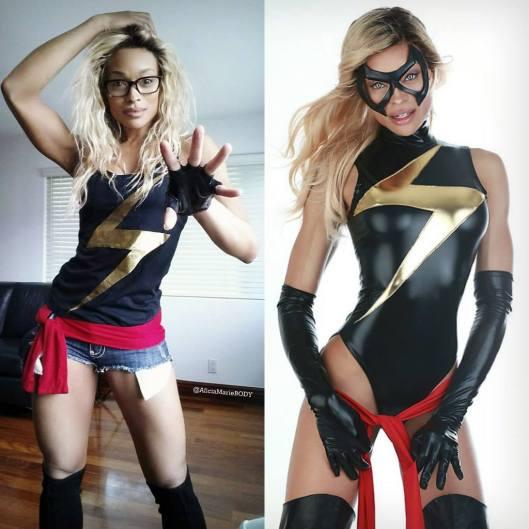 Alicia Marie Capain Marvel