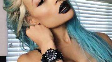 Alicia Marie Dark Lips