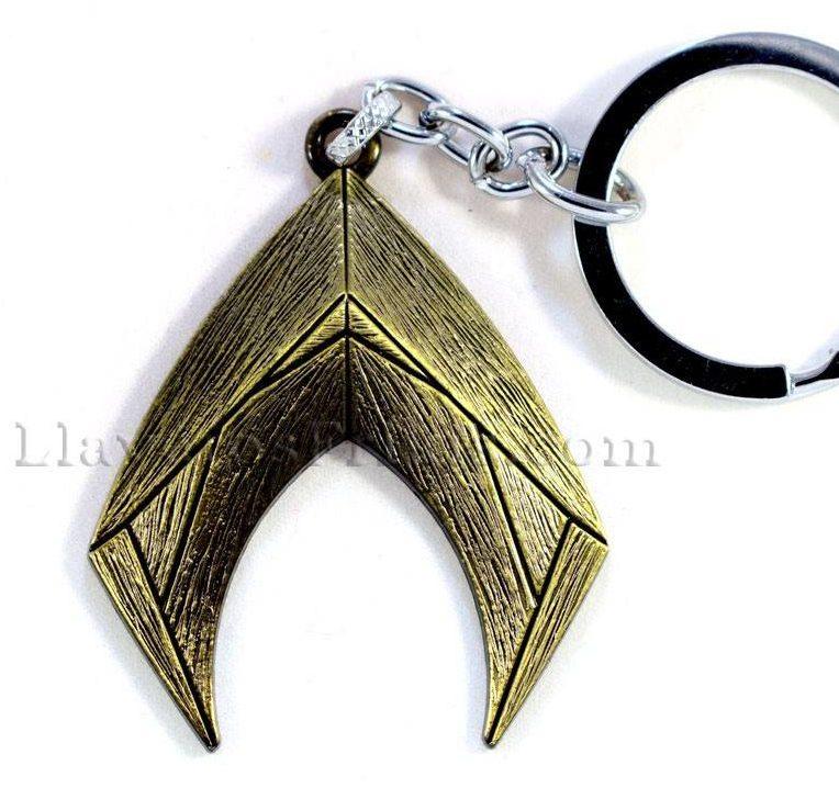 Llaveros de películas Emblema de Aquaman