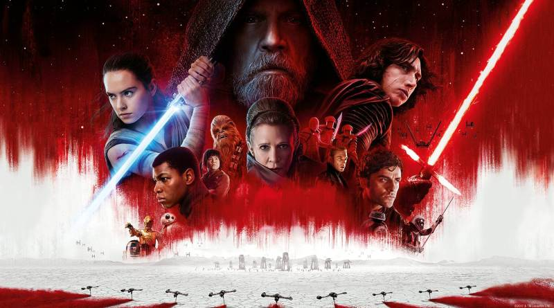 Star Wars The Last Jedi Portada
