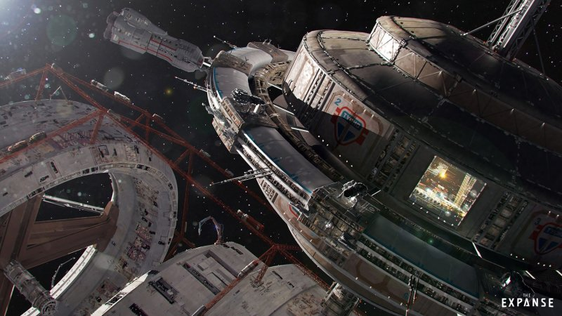 The Expanse Tycho Station