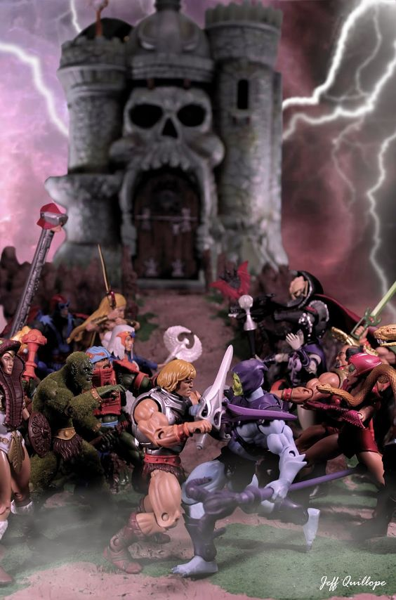 Juguetes de He-Man y los Amos del Universo Maqueta 2