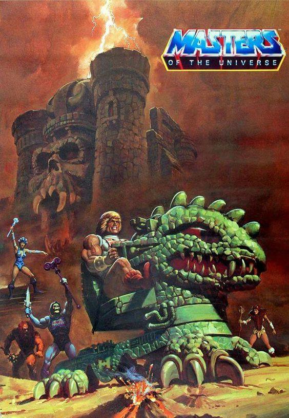 He-Man y los Amos del Universo vehículo 4