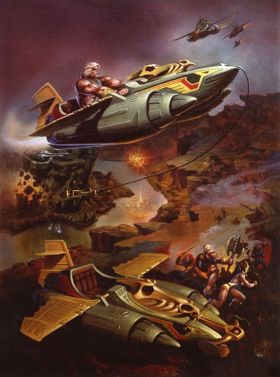 He-Man y los Amos del Universo Wing Rider