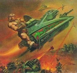 He-Man y los amos del Universo Battle-Ram Sky-Sled