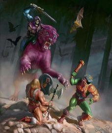 He-Man y los Amos del Universo Combate contra Faker