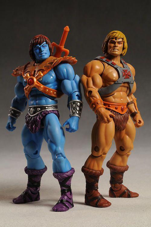 Juguetes de He-Man y los Amos del Universo He-Man y Faker