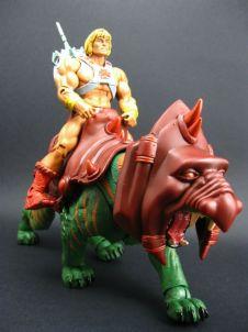 Juguetes de He-Man y los Amos del Universo He-Man y Battlecat