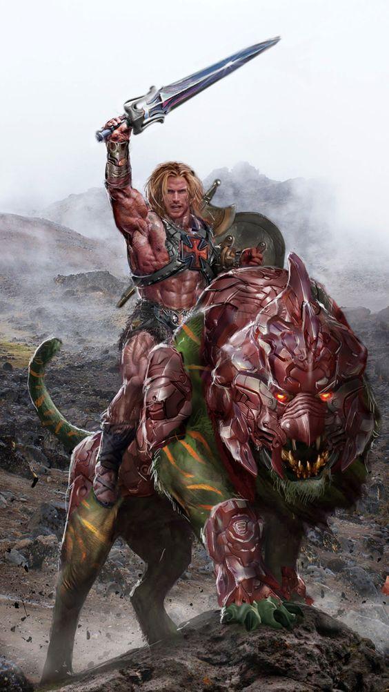 He-Man y los Amos del Universo Battlecat