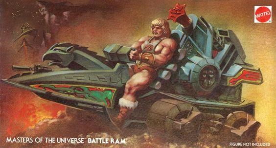 He-Man y los amos del Universo Battle-Ram