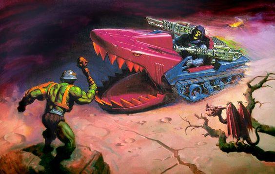 He-Man y los amos del Universo Landshark 2
