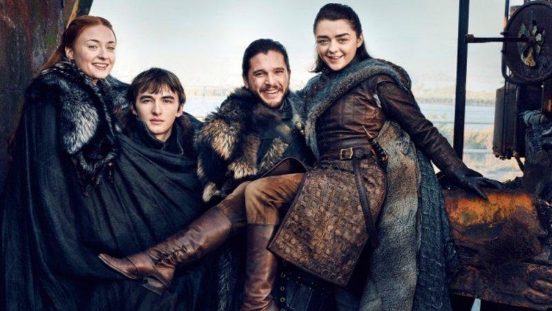 Game Of Thrones Juego de Tronos Familia Stark