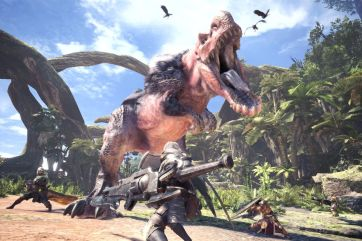 Monster Hunter World Tiranosaurio