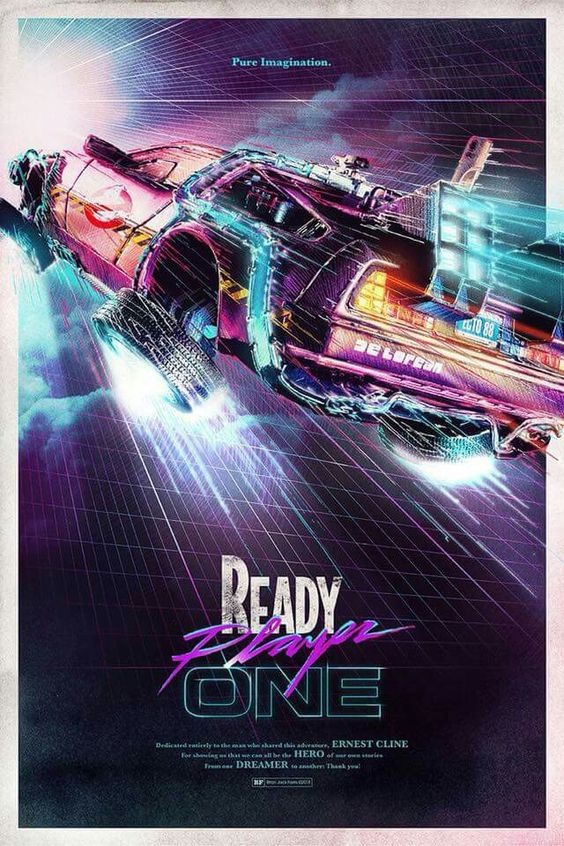 Ready Playe ONE Poster 2