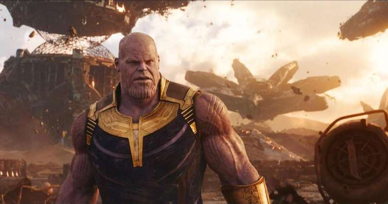 Avengers Infinity Wars Thanos