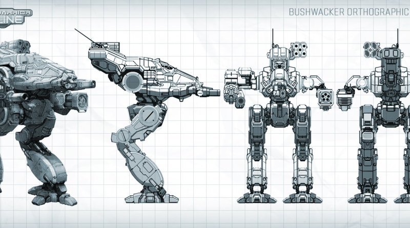 Battlemech Bushwacker
