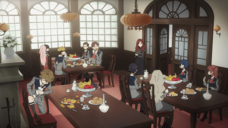 Darling in the FranXX Comedor
