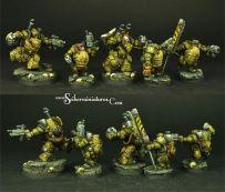 Miniaturas Scibor Infantería Pesada
