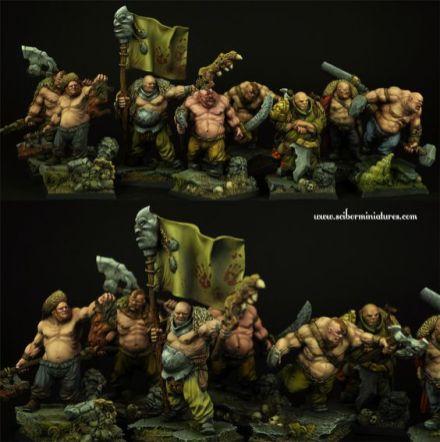 Miniaturas Scibor Ogros