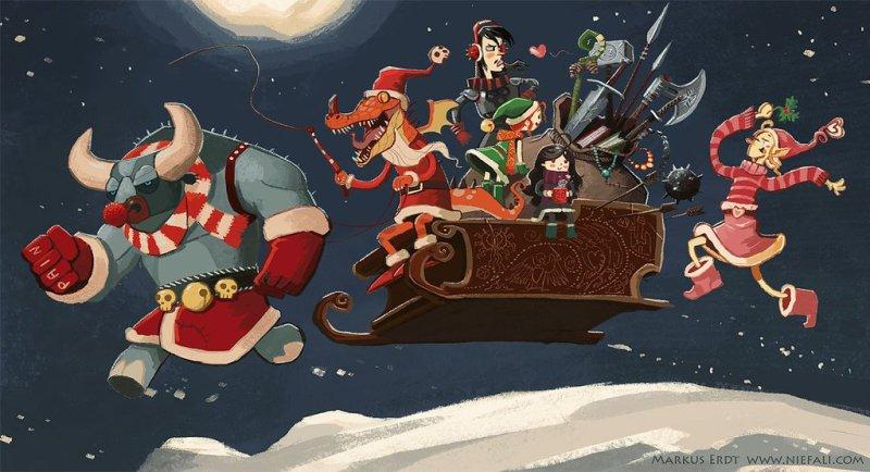 Navidad en Julio en DriveThruRPG