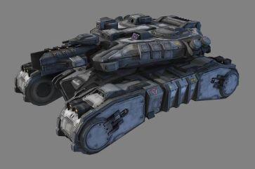 Sci Fi Medium Tank by CGPitbull