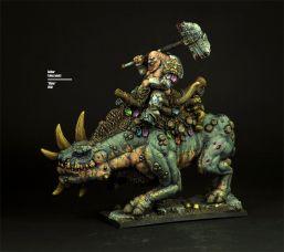 Scibor Miniatures Enano sobre bestia