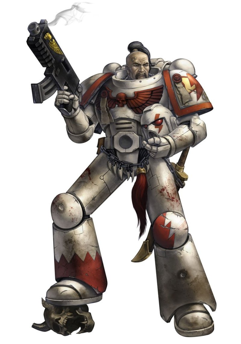 Wrath & Glory Space Marine Tactical Marine