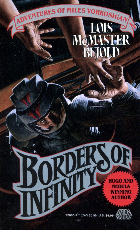Fronteras del Infinito de Lois McMaster Bujold Portada en inglés