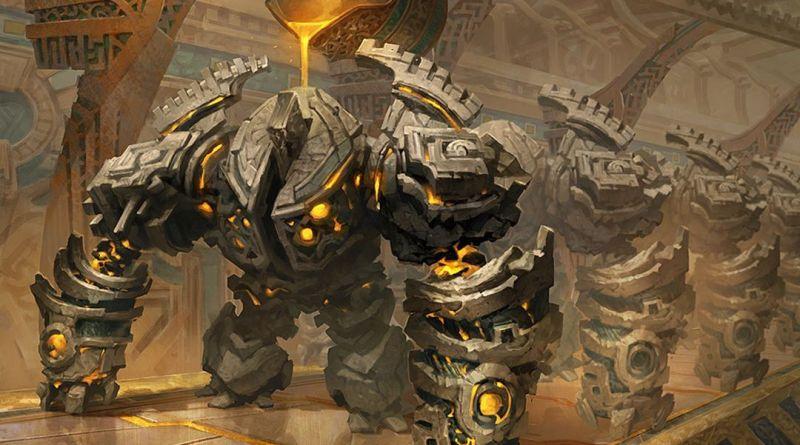 DnDForge - Golden Guardian MTG: RIVALS OF IXALAN por Svetlin Velinov