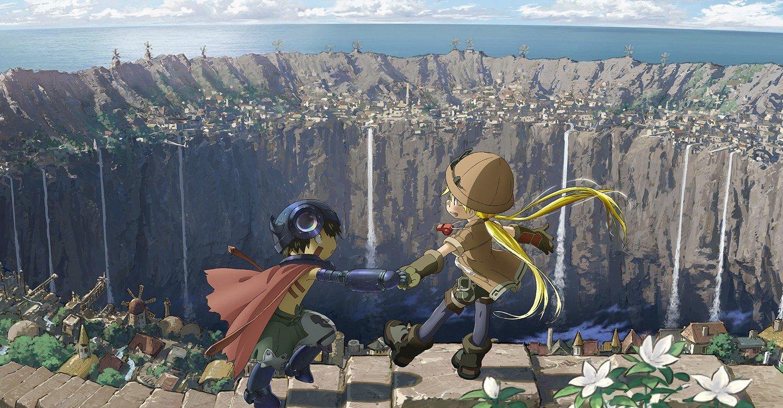 Made in Abyss Riko le muestra a Reg el hermoso pueblo de Orth, que se encuentra al borde del abismo