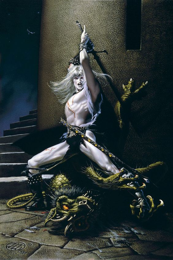 Elric Demoslayer por Michael Whelan