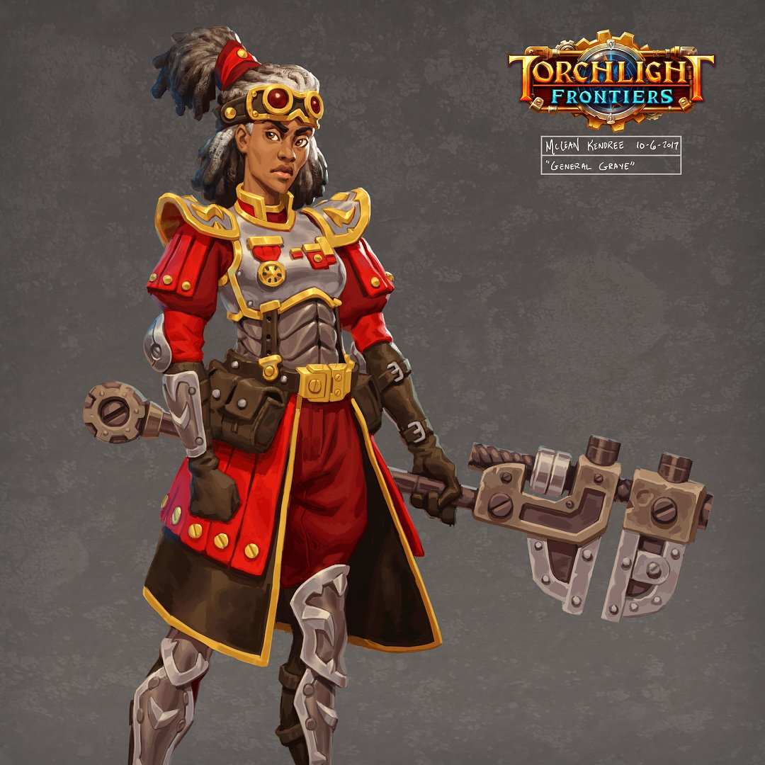 Torchlight Frontiers Personaje
