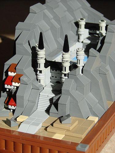 Castillo de LEGO en Microescala