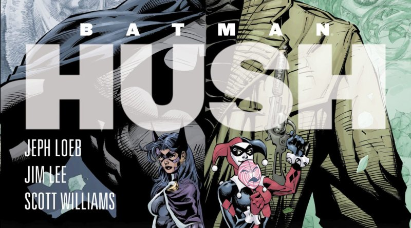 Batman: Hush Portada