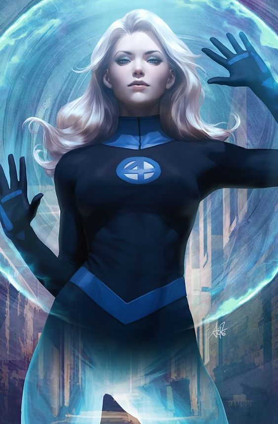 Fantastic Four Sue Storm Richards